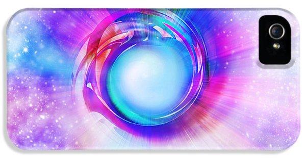 Spectrum iPhone 5 Cases - Circle Eye  iPhone 5 Case by Setsiri Silapasuwanchai