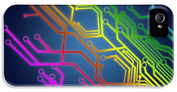 Circuit Board IPhone 5 Case