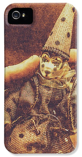 Circus Puppeteer  IPhone 5 Case by Jorgo Photography - Wall Art Gallery