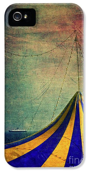 Circus With Distant Ships II IPhone 5 Case