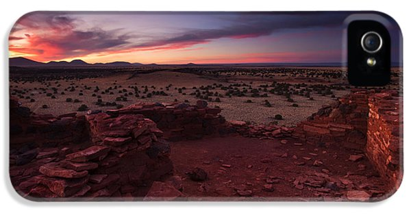 Citadel Sunset IPhone 5 Case by Mike  Dawson