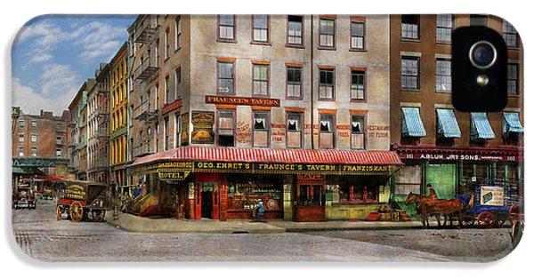 City - New York Ny - Fraunce's Tavern 1890 IPhone 5 Case