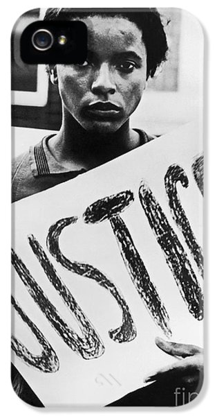 Civil Rights, 1961 IPhone 5 Case by Granger