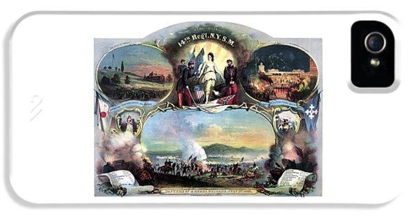 Civil War 14th Regiment Memorial IPhone 5 Case
