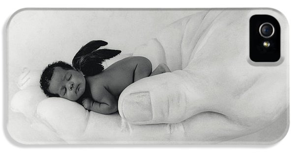 C.j. As An Angel IPhone 5 Case by Anne Geddes