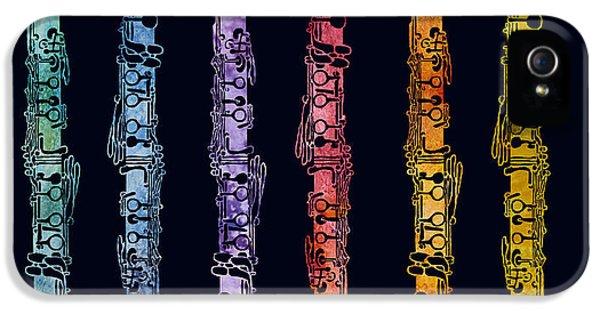Clarinet Rainbow IPhone 5 Case