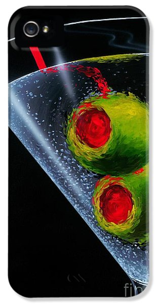 Classic Martini IPhone 5 Case by Michael Godard