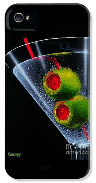 Food And Beverage iPhone 5 Case - Classic Martini by Michael Godard