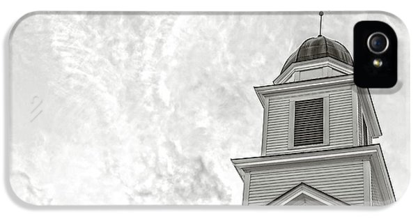 Etna iPhone 5 Case - Classic New England Church Etna New Hampshire by Edward Fielding