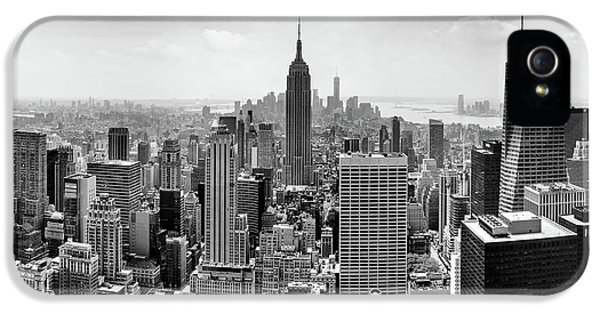 Empire State Building iPhone 5 Case - Classic New York  by Az Jackson