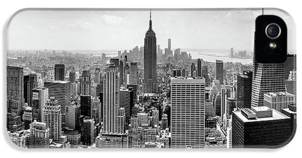 Apple iPhone 5 Case - Classic New York  by Az Jackson