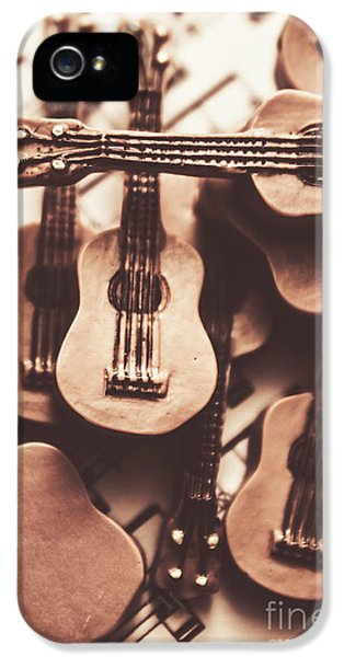 Classical Music Recording IPhone 5 Case by Jorgo Photography - Wall Art Gallery