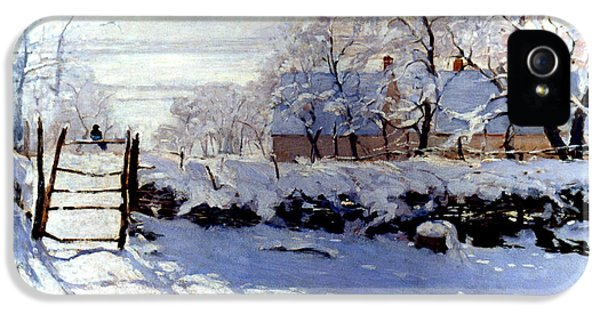 Claude Monet: The Magpie IPhone 5 Case by Granger