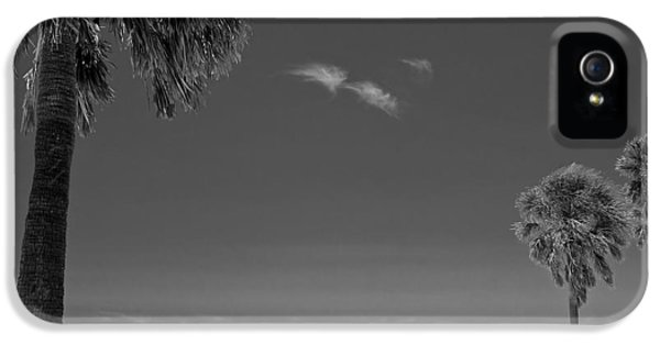 Clearwater Beach Bw IPhone 5 / 5s Case by Adam Romanowicz