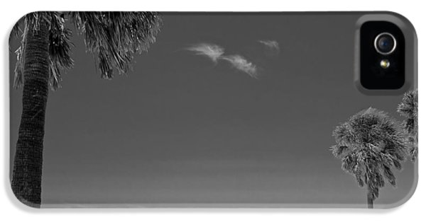 Clearwater Beach Bw IPhone 5 Case