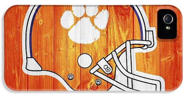 Clemson iPhone 5 Case - Clemson Barn Door by Dan Sproul