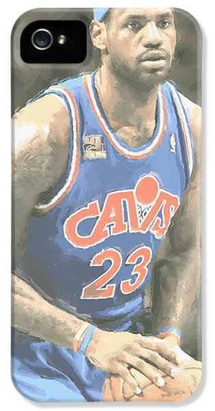 Cleveland Cavaliers Lebron James 1 IPhone 5 Case