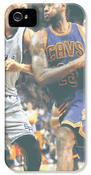 Cleveland Cavaliers Lebron James 4 IPhone 5 Case