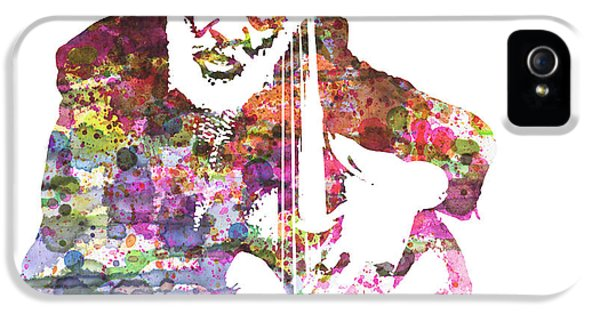 Saxophone iPhone 5 Case - Cleveland Eaton by Naxart Studio