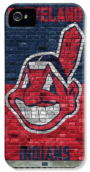 Cleveland Indians Brick Wall IPhone 5 Case