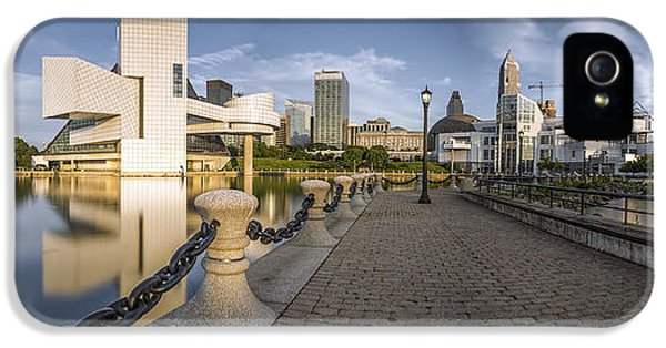 Cleveland Panorama IPhone 5 / 5s Case by James Dean