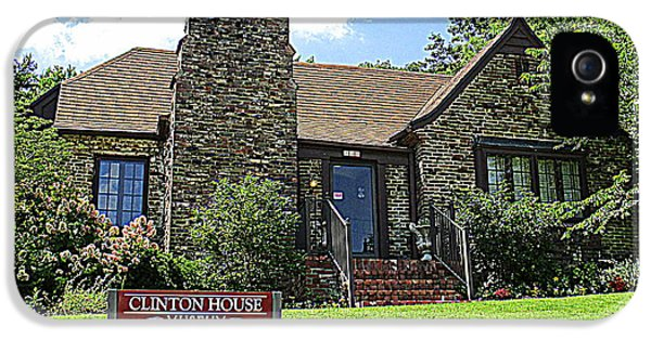 Clinton House Museum 1 IPhone 5 Case by Randall Weidner