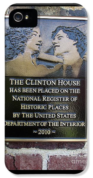 Clinton House Museum 2 IPhone 5 Case by Randall Weidner