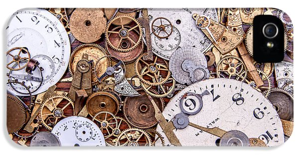 Clockworks Still Life IPhone 5 Case by Tom Mc Nemar