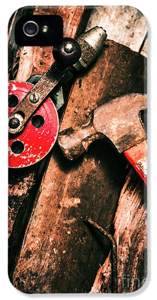 Close Up Of Old Tools IPhone 5 Case