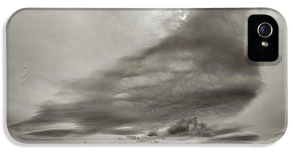 IPhone 5 Case featuring the photograph Cloudy Sky, Karakorum, 2016 by Hitendra SINKAR