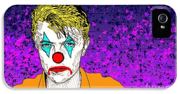 Clown David Bowie IPhone 5 Case