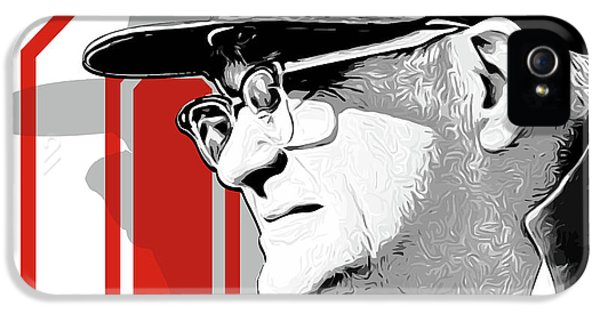 Miami iPhone 5 Case - Coach Woody Hayes by Greg Joens