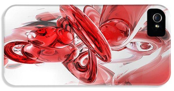 Coagulation Abstract IPhone 5 Case by Alexander Butler