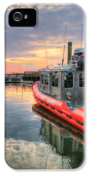 Coast Guard Anacostia Bolling IPhone 5 Case by JC Findley