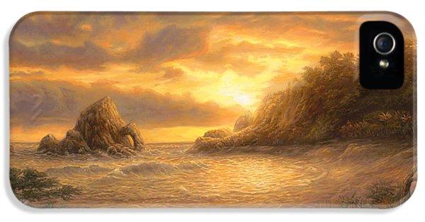 Coastal Sunset IPhone 5 Case by Chuck Pinson