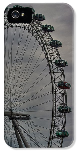 Coca Cola London Eye IPhone 5 Case by Martin Newman