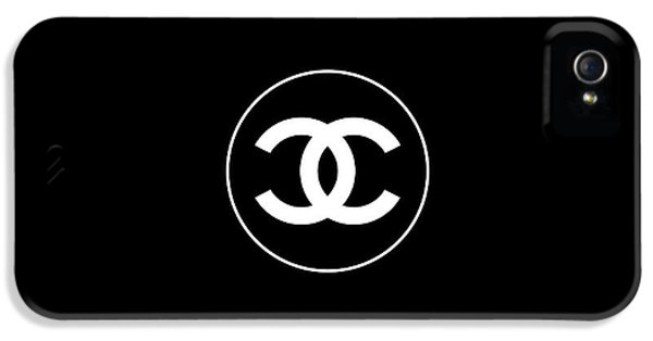 Coco Chanel IPhone 5 / 5s Case by Tres Chic