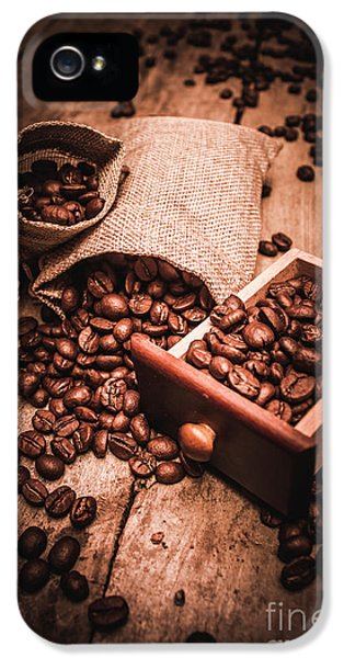 Coffee Bean Art IPhone 5 Case