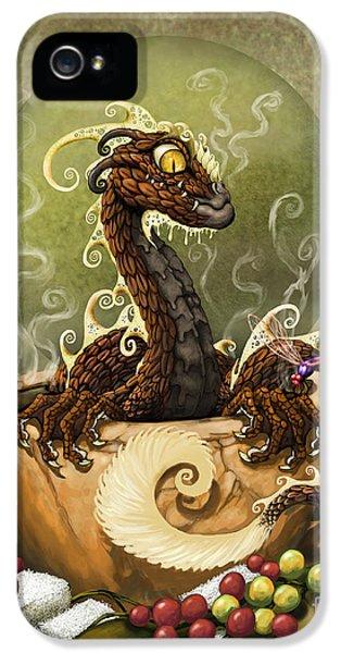 Coffee Dragon IPhone 5 Case
