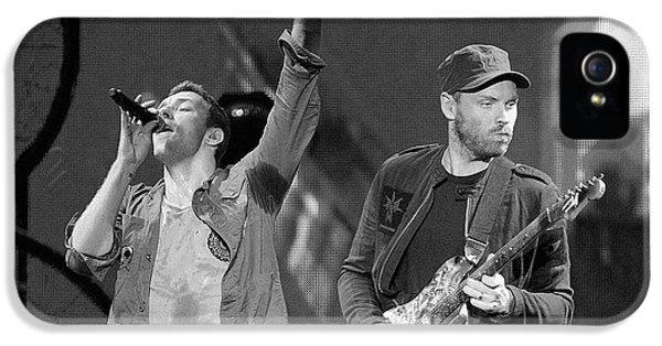 Coldplay 14 IPhone 5 Case by Rafa Rivas