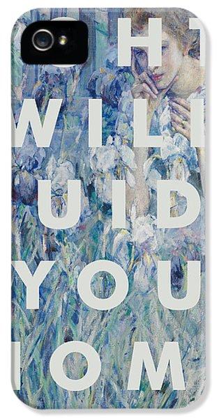 Coldplay Lyrics Print IPhone 5 Case