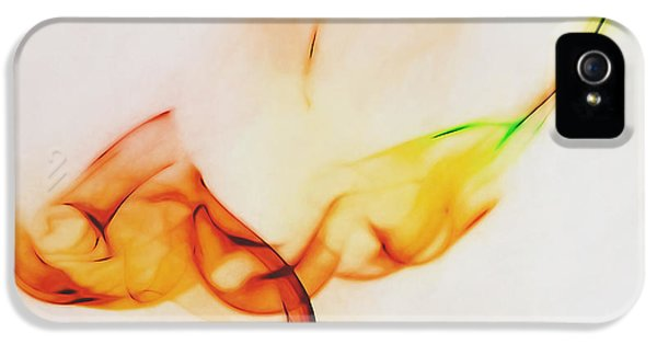 Color And Smoke I IPhone 5 Case by Scott Norris