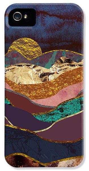 Landscapes iPhone 5 Case - Color Fields by Katherine Smit