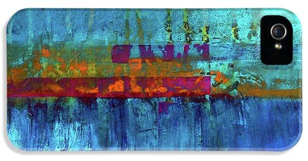Color Pond IPhone 5 Case by Nancy Merkle