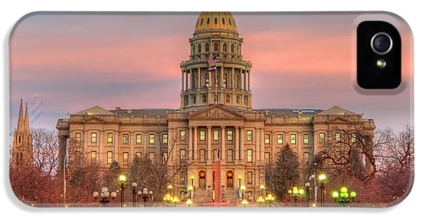 IPhone 5 Case featuring the photograph Colorado Capital by Gary Lengyel