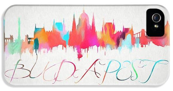Colorful Budapest Skyline IPhone 5 Case