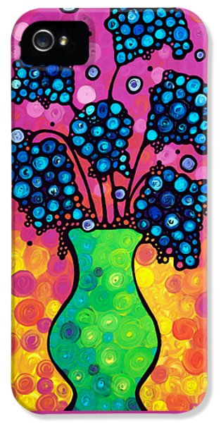 Colorful Flower Bouquet By Sharon Cummings IPhone 5 Case by Sharon Cummings