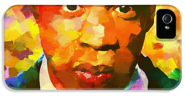 Colorful Jay Z Palette Knife IPhone 5 / 5s Case by Dan Sproul