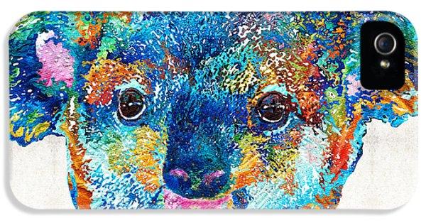 Koala iPhone 5 Case - Colorful Koala Bear Art By Sharon Cummings by Sharon Cummings