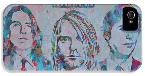 Colorful Nirvana Grunge IPhone 5 Case by Dan Sproul